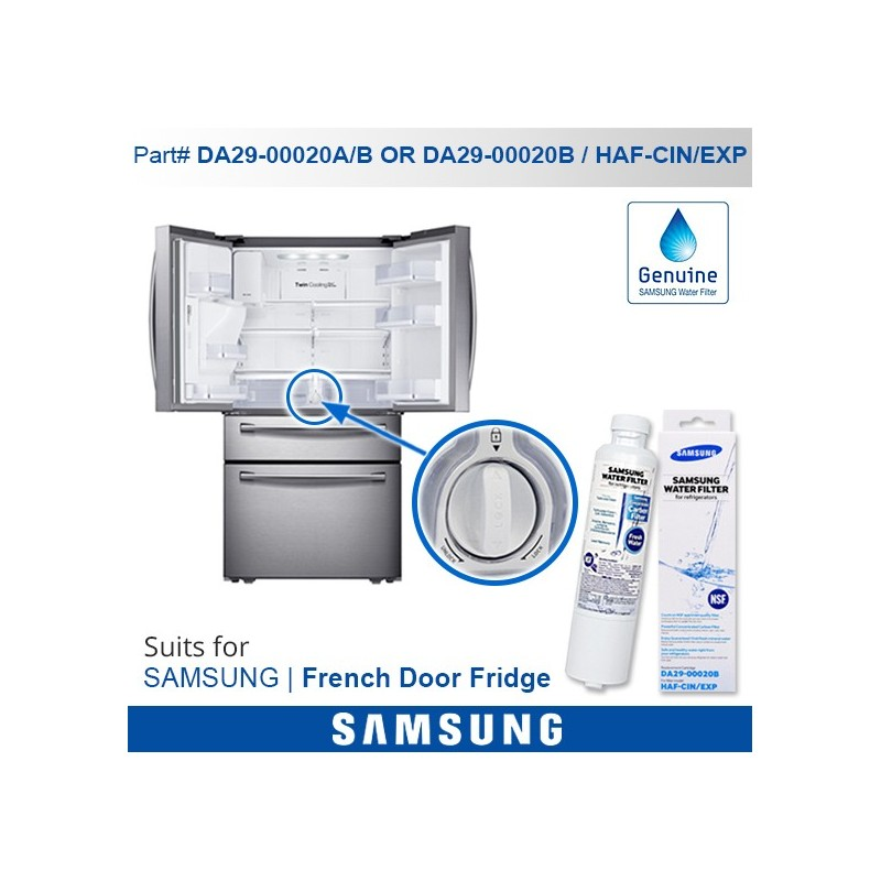 samsung da2900020b genuine fridge water filter