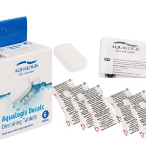 Aqualogis Decalc Descaling Tablets Compatible With Bosch 00311556 Coffee Machine