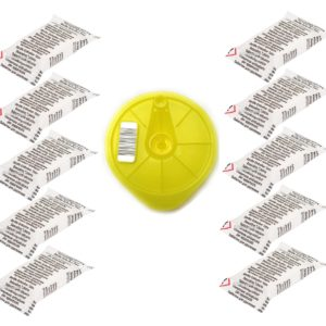 Yellow T-Disc + 10 Descaling Tablests